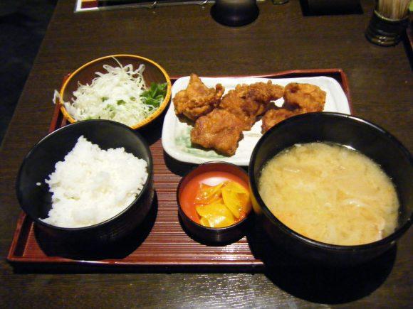 鶏よ魚よ_パセオ_ザンギ豚汁定食_0001