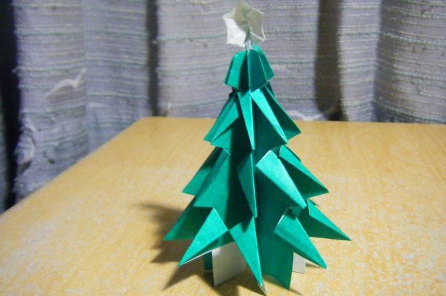 ハート 折り紙 折り紙ツリー立体 : poccyary.com