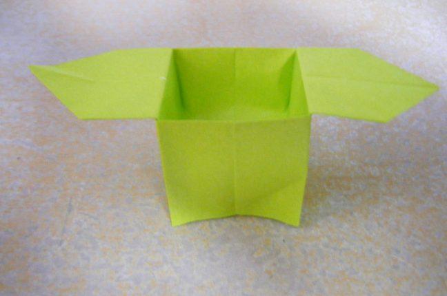 ハート 折り紙 折り紙 箱 正方形 : poccyary.com