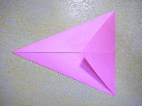 ハート 折り紙:折り紙梅の花作り方-poccyary.com