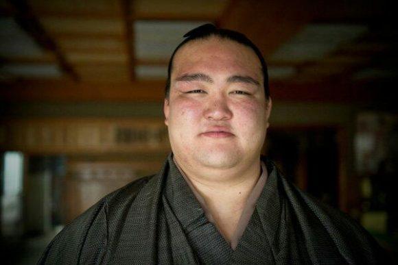 お相撲さんの稀勢の里